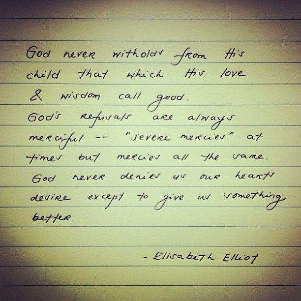 Elisabeth Elliot Quotes On Love: 90 Best Images About Quotes: Elisabeth And Jim Elliot On
