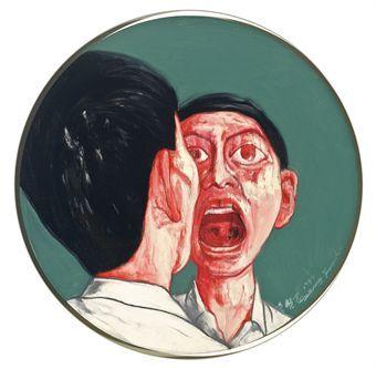 1999 Zeng Fanzhi (曾梵志; b1964, Wuhan, Hubei Province, China; based in Beijing)