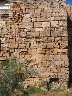 Early Christian #fortification wall at Kydonia, #Chania Prefecture. #archaeology