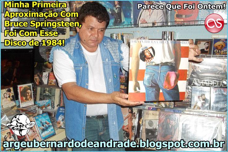 """Gosto do Bruce conheci Um dos Maiores Hits Dele, em Uma Danceteria na Cidade de Caracaraí, Indicado Pelo Saudoso Macarrão (Adilson Figueredo), Esse Foi o Meu Primeiro LP, Comprado do Bruce Springsteen, Lançado em 1984, Algumas das Minhas Prediletas Desse Disco São: """"Cover Me"""" - """"I'm on Fire"""" e """"Working On The Highway"""", Mas o Disco Todo é Muito Bom, Eu Tenho Em CD e LP, E Também DVDs. ---> http://argeubernardodeandrade.blogspot.com.br/2013/09/bruce-springsteen-canta-sociedade.html"""