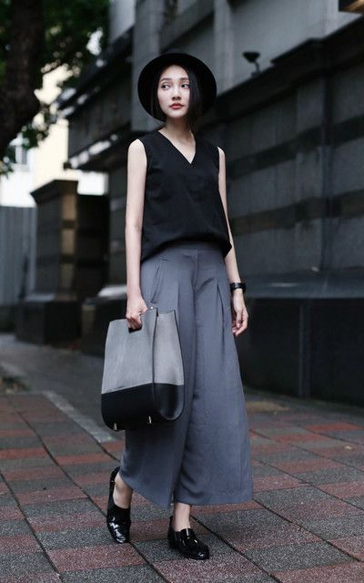 Cool Grays and black ! Simple pieces but stylish!