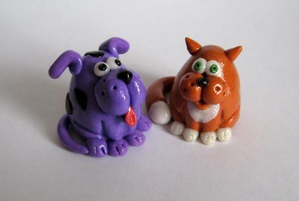 животные из полимерной глины фото | Фотоархив
