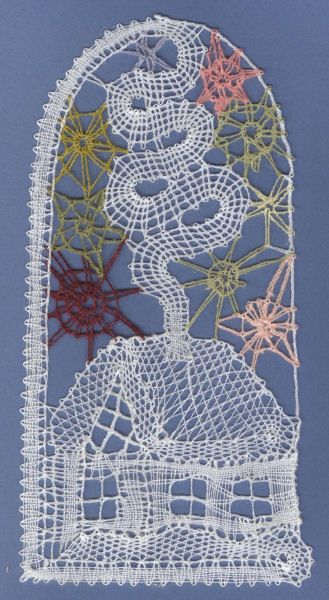 Bobbin lace house
