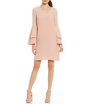 Antonio Melani Tatiana Crepe Shift Dress
