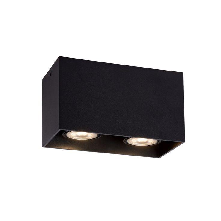 Brody 2 - zwart - plafondverlichting - binnenverlichting - Lichtkoning.be