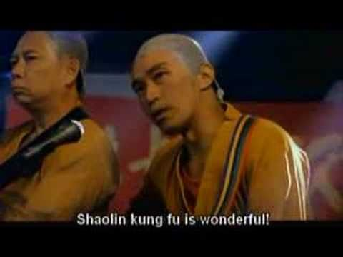 Shaolin Soccer Singing - Steven Chow I'm not sure why I put this up here but it's awesome, and also awesome movie.