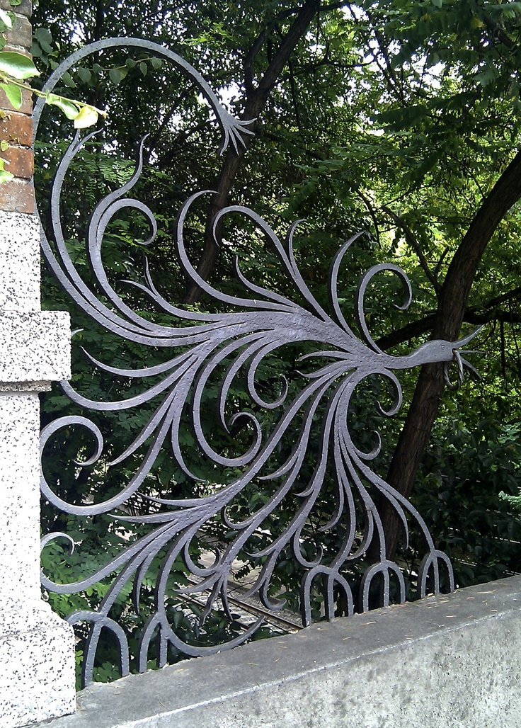 Pegli - wrought iron on the bridge http://www.superiorornamentalsupply.com/custom-services/custom-steel-forging.html