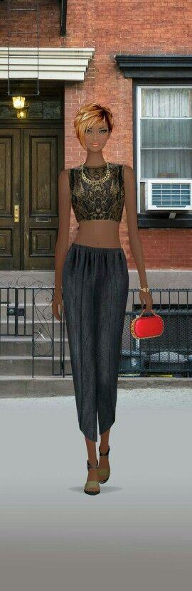 Urban Glam | Covet Fashion game | Pinterest | Urban