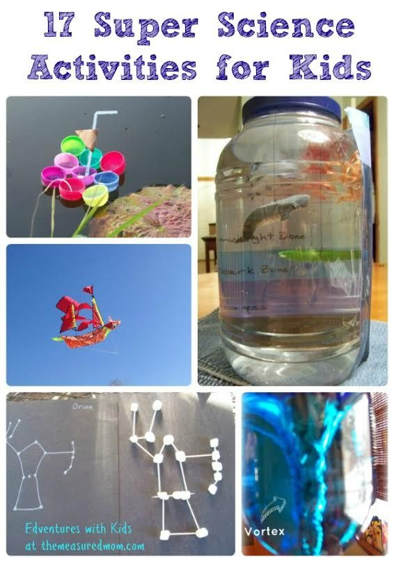 Super summer science activities the kids will LOVE!