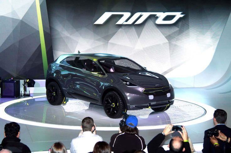 Cutting-Edge Urban Hybrid Vehicle Shows Off Kia's Ambitious Vision of a Lifestyle City Car. The Kia Niro.