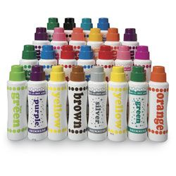 Do-A-Dot Art™ Washable Paint Markers - 25-Piece Marker Classroom Pack - 19 Colors