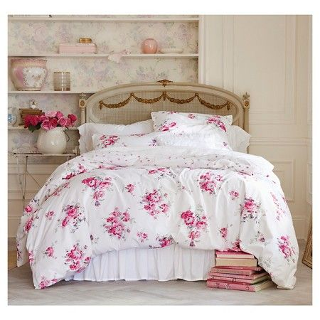 Simply Shabby Chic® Sunbleached Floral Duvet Set : Target