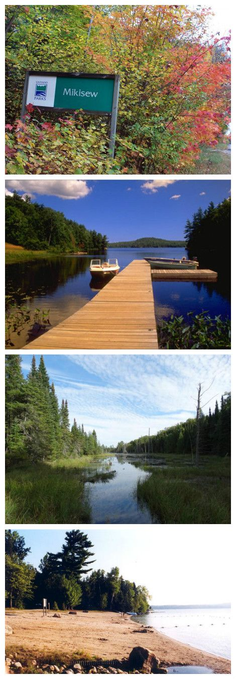 Gorgeous Mikisew Provincial Park has a beautiful dog area and beach/lake. It is an awesome park to enjoy for a week or long weekend! *One of our favourites!* Definitely a park to check out if you've never been!!  Find out more at : //www.ontarioparks.com/park/mikisew    #southcoastvibe