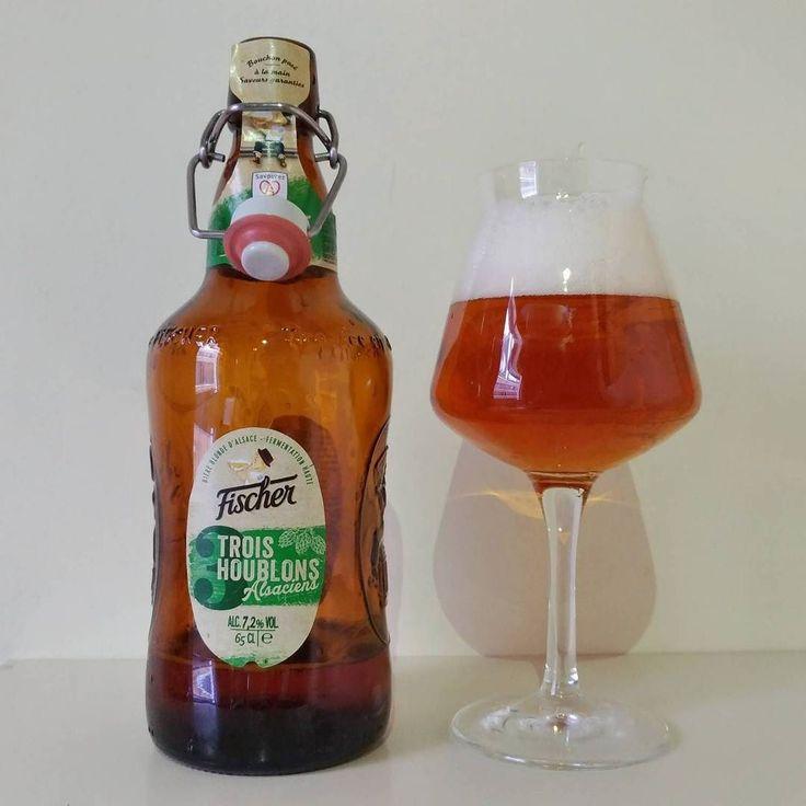 Fischer Trois Houblons - A cervejaria Fischer surgiu em 1821 em Estrasburgo uma região francesa perto da Alemanha. Apesar de ser uma cervejaria de tradição em 1996 foi comprada pela Heineken passando a ser encorporada às marcas do grupo.  A  Fischer Trois Houblons é produzida com três tipos de lúpulos todas da região de Alsácia a menor região metropolitana da França (Wikipédia) e a cerveja é um símbolo de colaboração entre Heineken e os produtores agrícolas da região.  Apesar da proximidade…