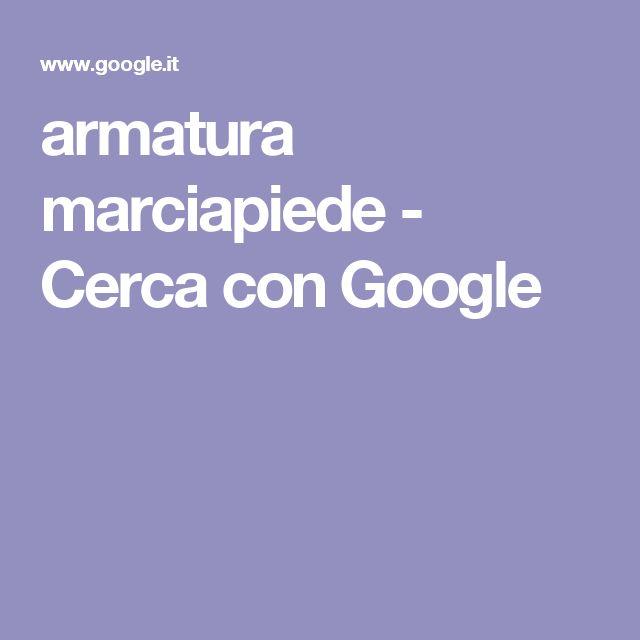 armatura marciapiede - Cerca con Google