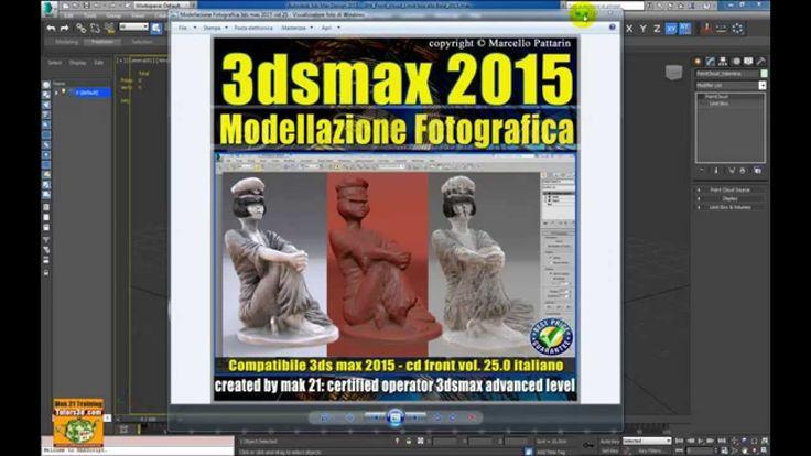 Video Corso Autodesk 3ds max 2015 Modellazione Fotografica Presentazione