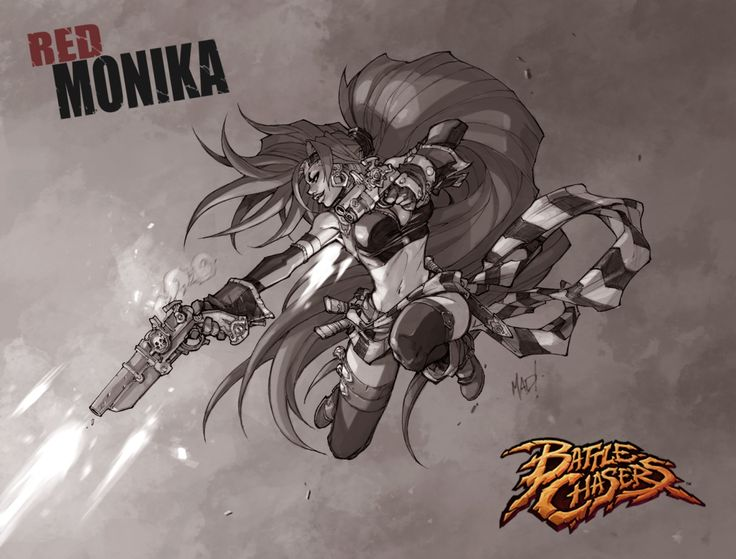 JOE MADUREIRA's BATTLE CHASERS To Return As Comic Book & Video Game | Newsarama.com YES!!!!