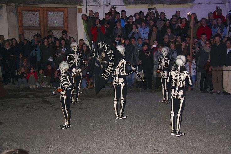 La dance de la Mort, Processó de Verges, Verges, Empordà-Costa Brava