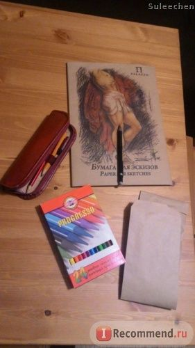 Набор цветных восковых карандашей Koh-i-Noor Progresso 24 цвета фото