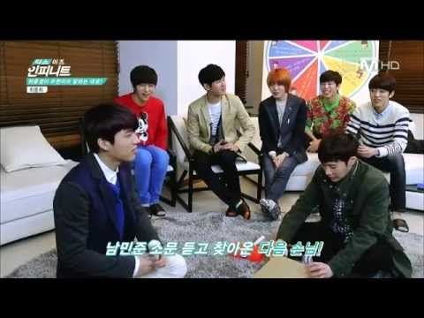 Woohyuni reading members' mind