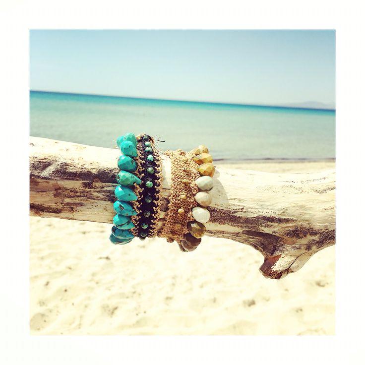 luxury braided bohemian jewelry #bohemianjewelry #antoniakarra #designerjewelry #summer16