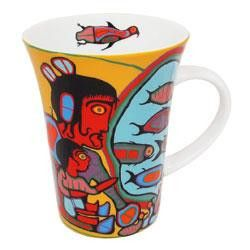 Looking Through Portals by Norval Morriseau  Picasso of the North Original Ojibway Artwork