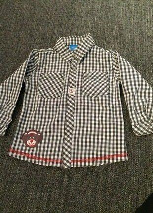 Kaufe meinen Artikel bei #Mamikreisel http://www.mamikreisel.de/kleidung-fur-jungs/langarm-hemden/39921806-schones-kariertes-hemd-von-topolino