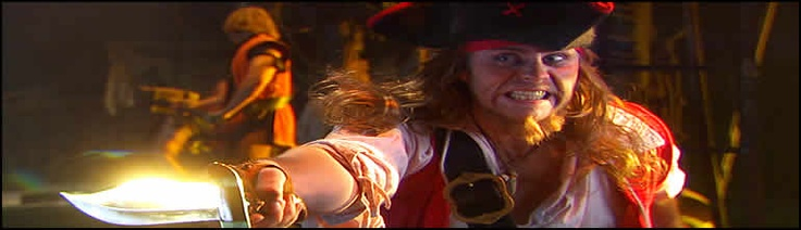 Pirates Dinner Adventure in Buena Park.  Offers school group discounts.