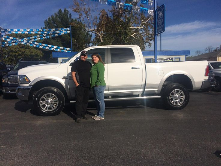 "Mike, wishing you many ""Miles of Smiles"" in your 2016 RAM  2500!  All the best, Benny Boyd Chrysler Dodge Jeep and Joshua Makowski."