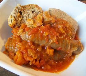 Quirky Cooking: Sausage Casserole with Dumplings