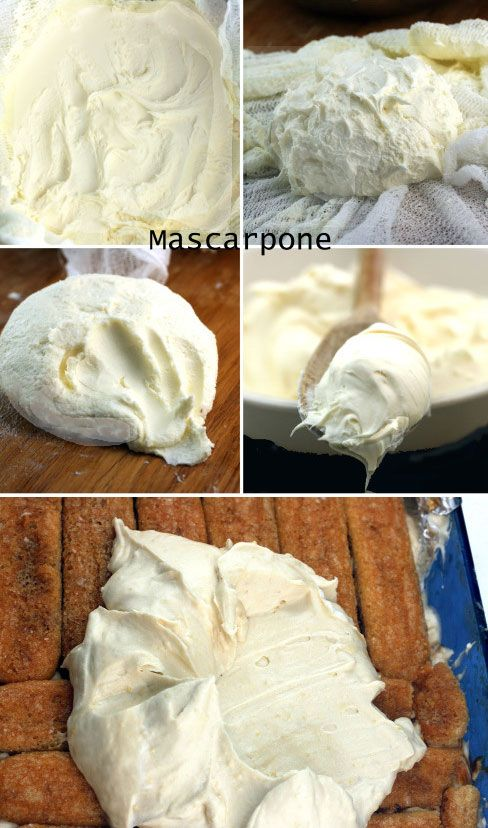 Homemade Mascarpone Cheese. Mascarpone is pretty pricey, but it takes two inexpensive ingredients and about 15 minutes heating time to make it yourself!