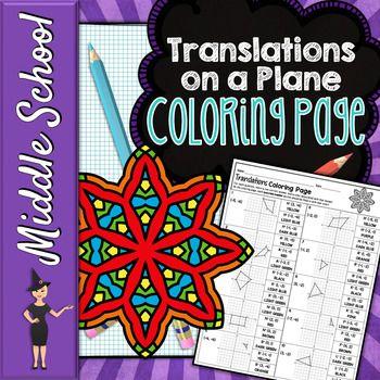 Translations on a coordinate plane