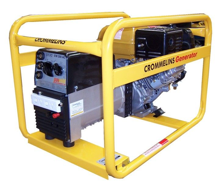 7.0kVA Petrol Welder Generator | Crommelins