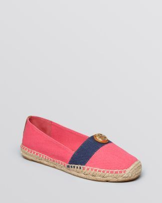 Tory Burch Espadrille Flats - Beacher Bloomingdale's