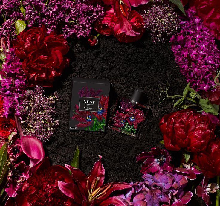 Black tulip ribbon dress mohawk