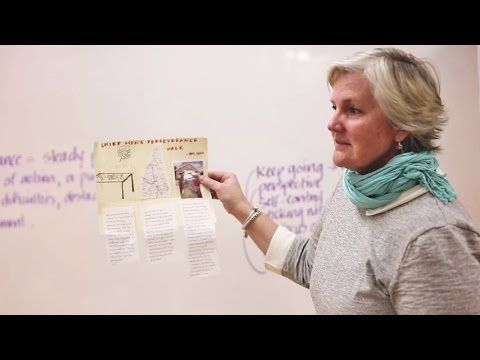 How do you teach your students to have grit? Check out this lesson idea: The Perseverance Walk