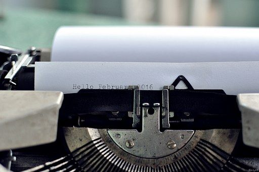 Typewriter, Typing, Typographical