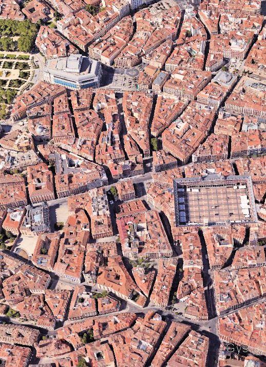 El viejo Madrid de los Austrias, un laberinto de calles, callejas, plazas y plazuelas