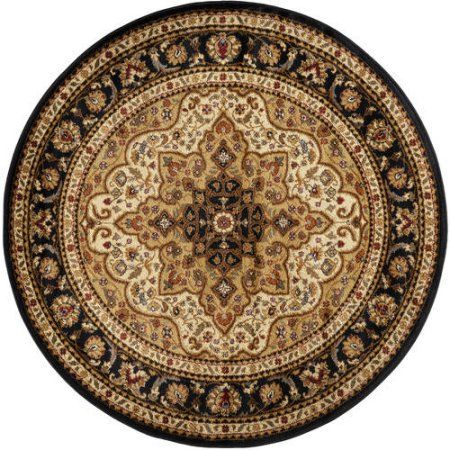 Bliss Rugs Fredes Traditional Area Rug, White
