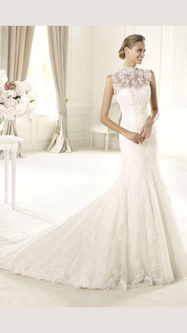 Wedding Dress Wedding Dresses Pronovias Lace Vintage