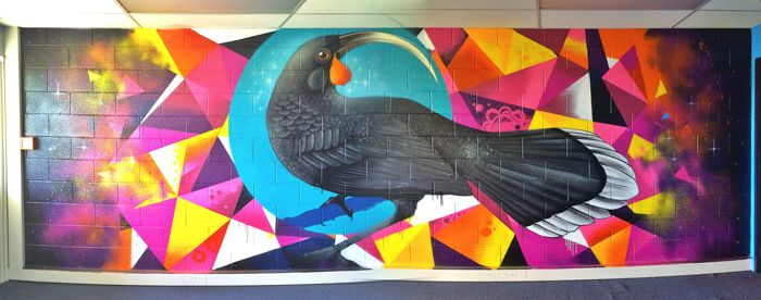 NZ artists Charles and Janine Williams
