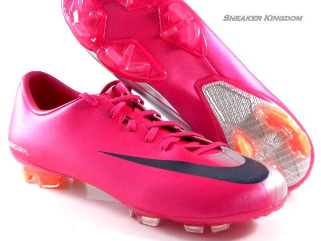 on sale e69b9 1895a Nike Mercurial Miracle FG Cherry Pink Navy Blue Soccer Cleats Boots Men  Shoes  Laura Severson Jensen..please 3   Soccer Life   Pink soccer cleats,  Soccer ...