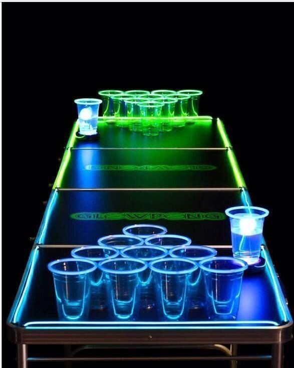 Neon Table Light: 1000+ Images About Beer Pong Ideas On Pinterest