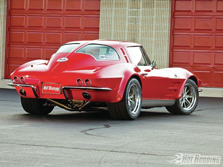 Phenomenal 39 63 corvette resto mod w z06 spec ls7 engine for Corvette split window 63