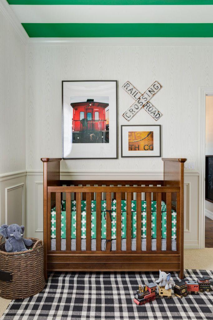 Baby Themed Bedroom Ideas: 17 Best Ideas About Train Nursery On Pinterest