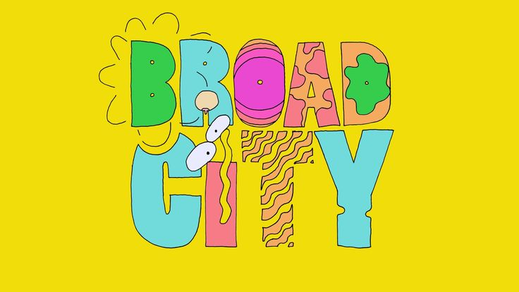 "Broad City Episode 2.2 ""Vomit"" Titles"