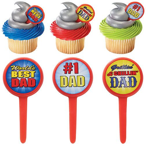 Fathers Day Food Picks $2 / Set of 12