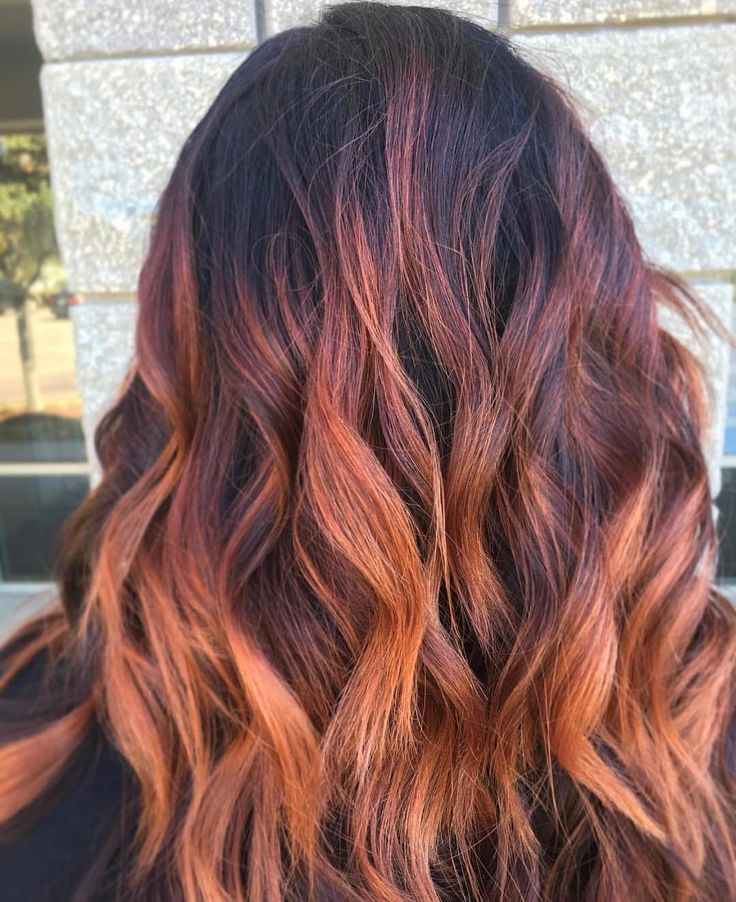 "36 Me gusta, 2 comentarios - Balayage & Color Specialist (@jenna_easterling) en Instagram: ""Throwback to this amazing fire hair. Obsessed with this color palette I created. This is great for…"""