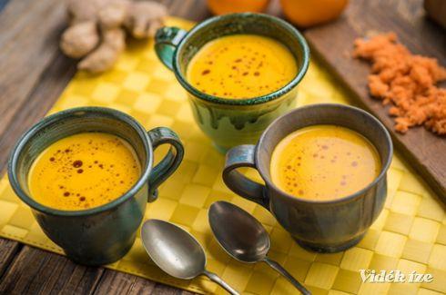 Gyömbéres-narancsos sárgarépa-krémleves - Vidék Íze