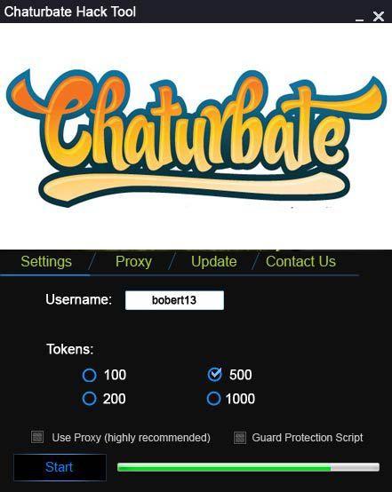 chaturbate hack token adder 2018